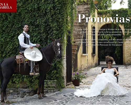 Salvador Pozo for Pronovias