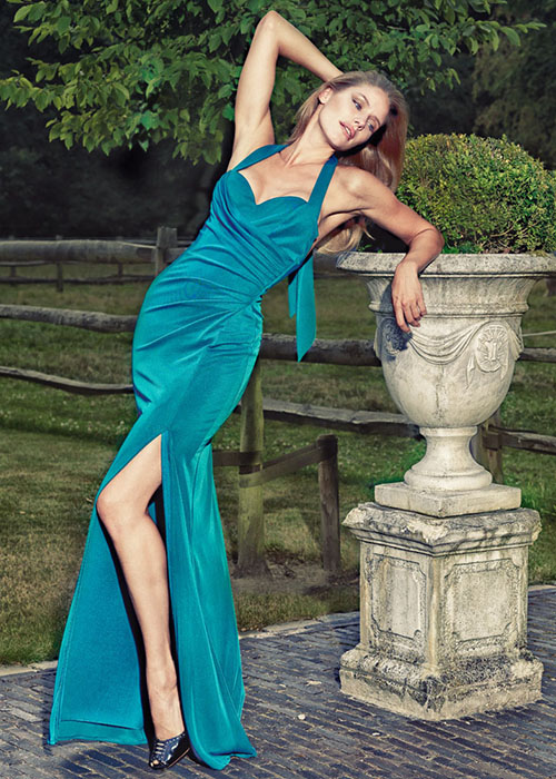 Salvador Pozo for EVEning Dresses