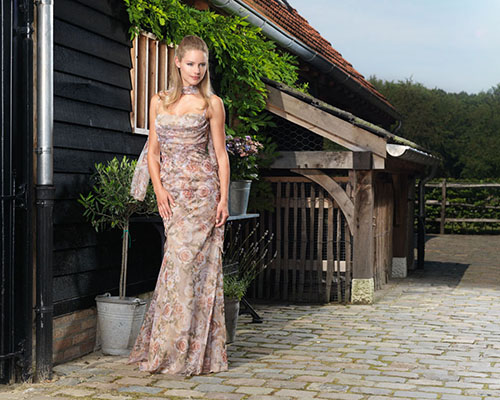 Salvador Pozo for EVEning Dresses in Belgium