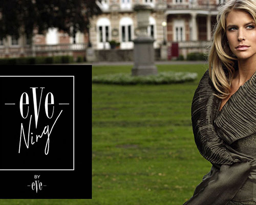 Salvador Pozo for EVEning Fashion in Belgium