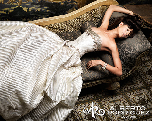 Salvador Pozo for Alberto Rodriguez Couture